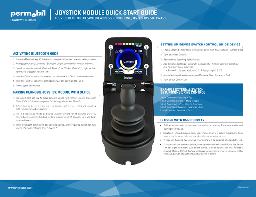 Permobil_joystick_module_quick_Start_Guide